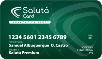 cartao saluta card